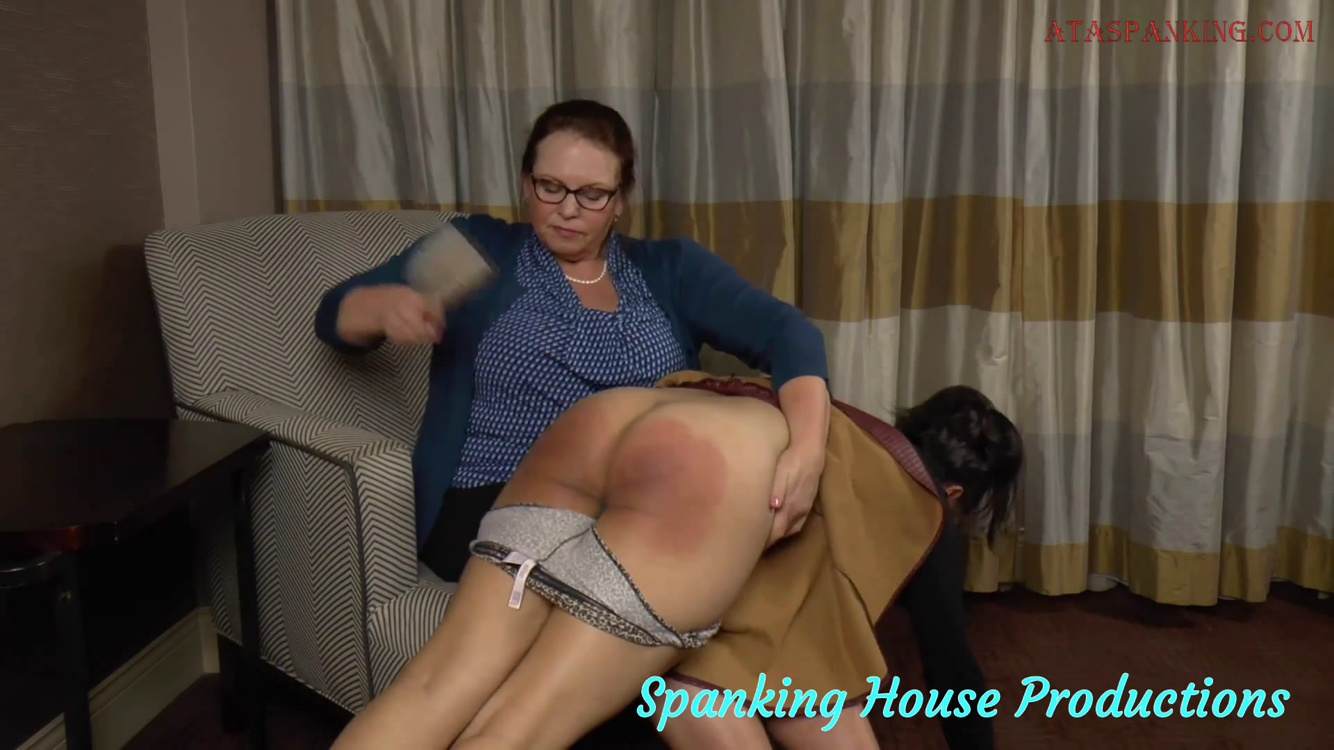 Spanking House Productions – MP4/HD – Miss Elizabeth, Raven Mackenzie – Real Tears for Raven