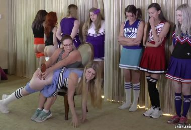 snapshot20181210172655 380x260 - Cheerleader Spankings – MP4/Full HD – Adriana Evans, Alex Reynolds, Cassidy Lau, Christy Cutie, Harly Havik, Michael Masterson, Miss Elizabeth, Stevie Rose, Violet October - Cheer Camp Year Two – clip 03
