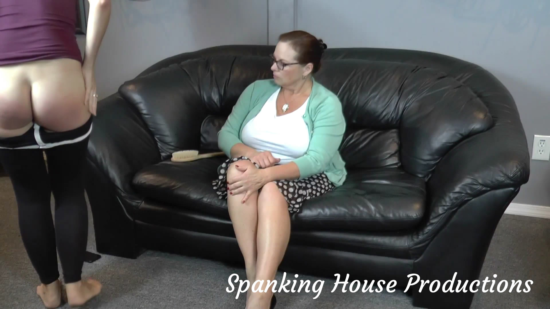 Spanking House Productions – MP4/Full HD – Miss Elizabeth, Rachel Adams – Cut Class, Get Spanked – Part 2 The Tears