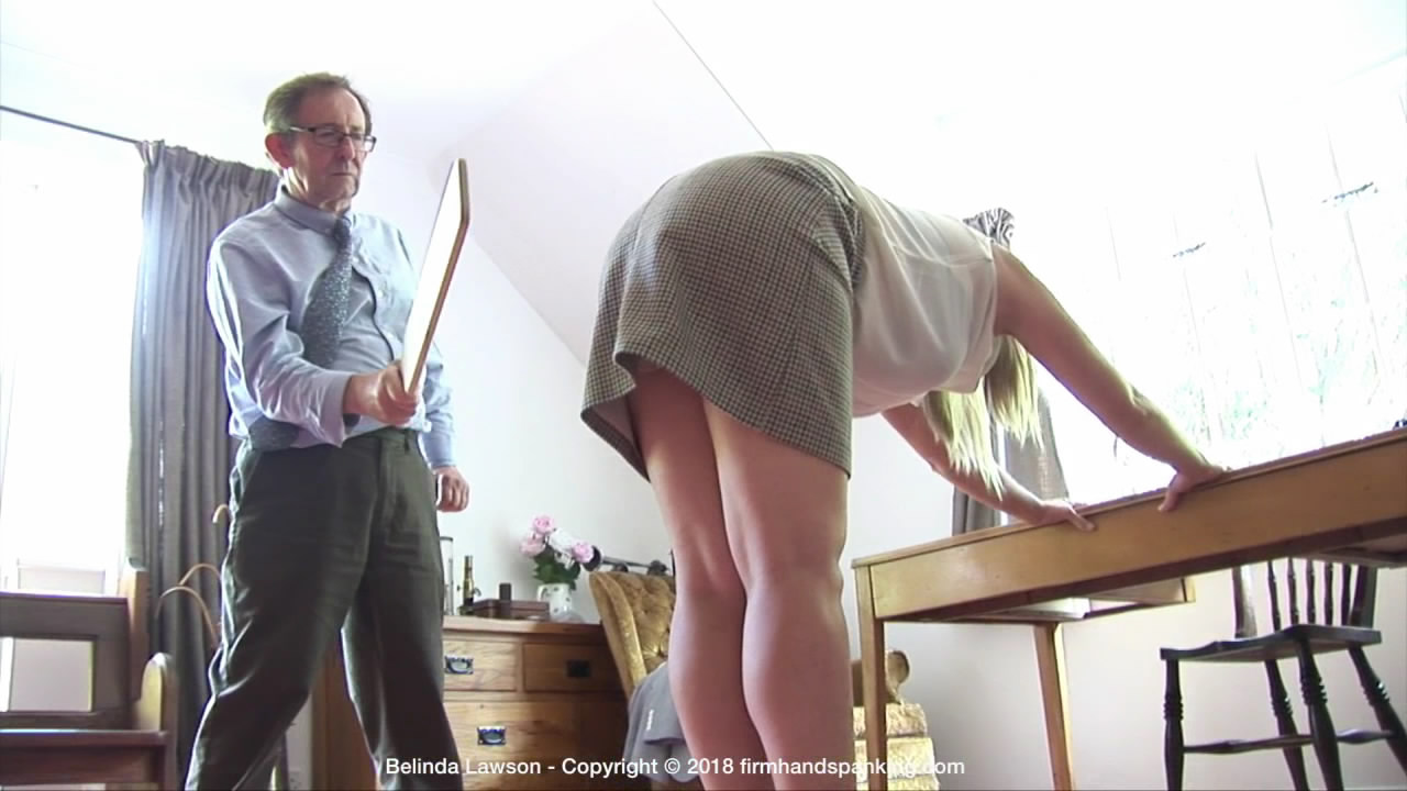 Firm Hand Spanking – MP4/HD – Belinda Lawson – Marks Out of Ten – T/Evaluation time at a military academy: Belinda Lawson faces 10 with a paddle! | Dec 21, 2018