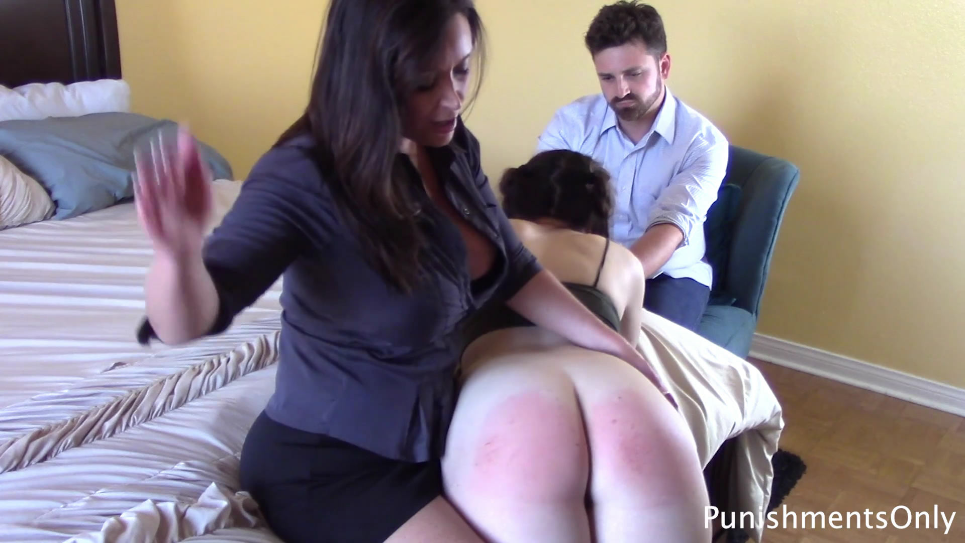 Punishments Only – MP4/Full HD – Christina Carter, Luci Lovett – Spankings are not Refusable