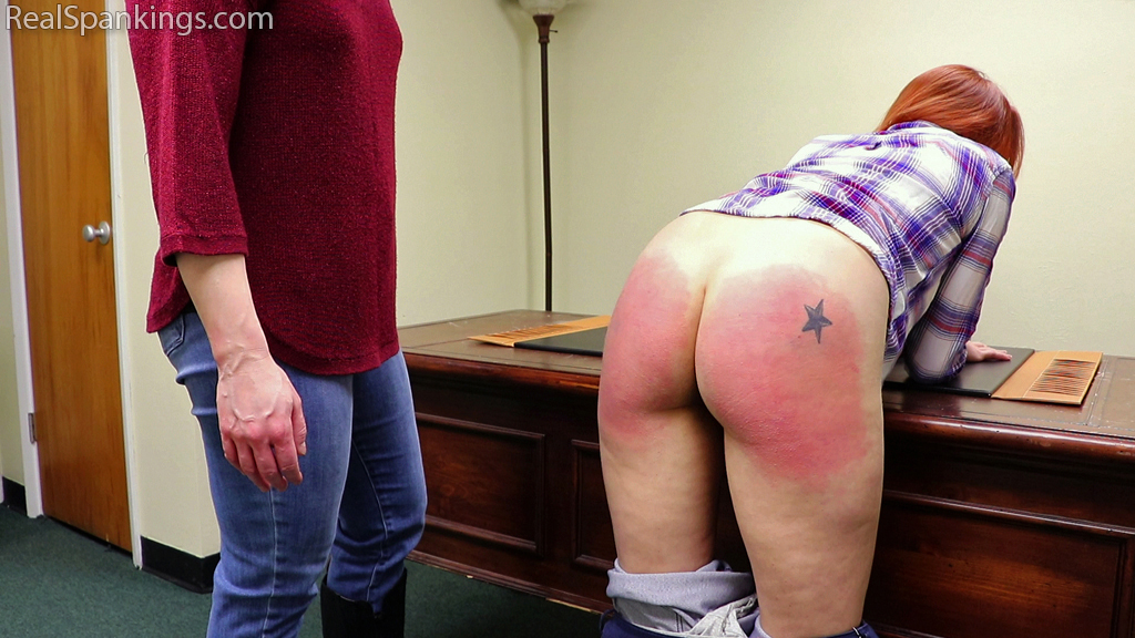 Real Spankings – MP4/Full HD – Spanked for Sassing at a Party (Part 1 of 2) | Jan 04, 2019