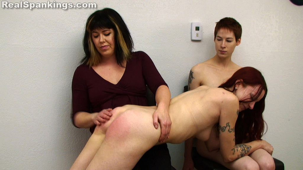 OTK Spankings – RM/HD – Lila and Kajira: Naked Spanking (Part 2 of 2) | January 16, 2019