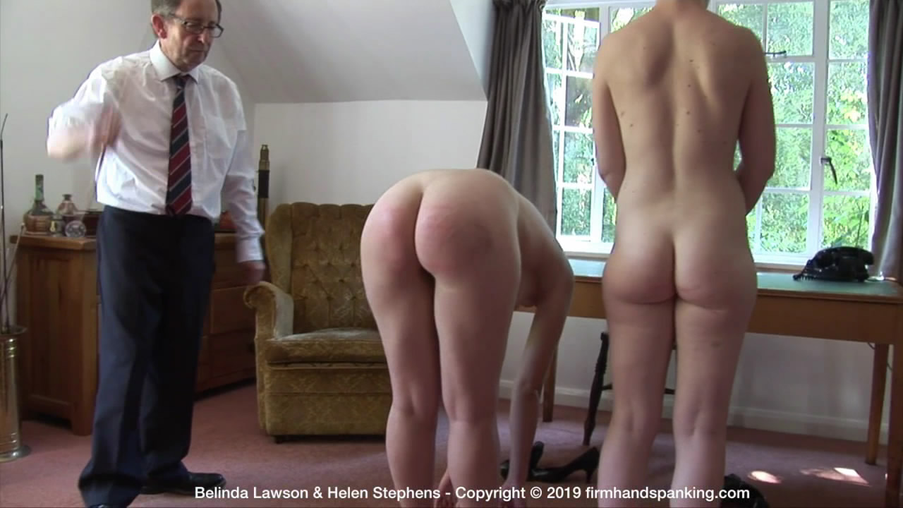 Firm Hand Spanking – MP4/HD – Belinda Lawson & Helen Stephens – Marks Out of Ten – ZC/The caning continues as Belinda and Helen touch their toes in turn for punishment | Jan 23, 2019