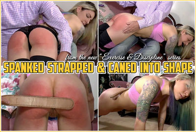 spanked into shapec4s - Triple A Spanking – AAA Spanking – MP4/Full HD – Lily Swan - Spanked Strapped & Caned into Shape