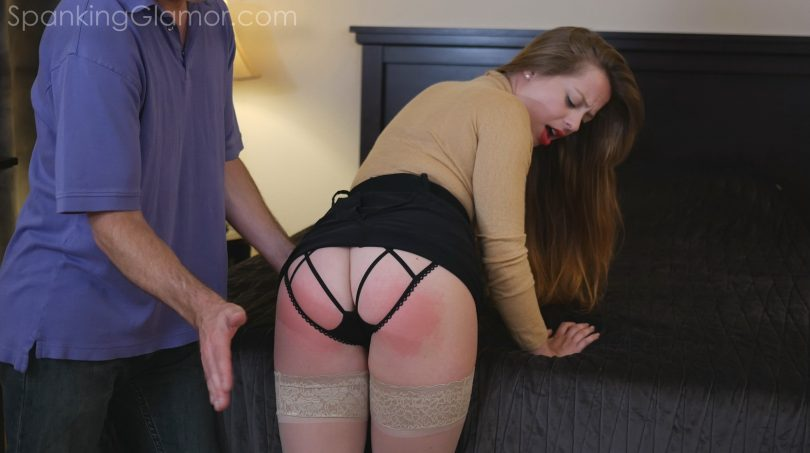 03 6 810x453 - Spanking Glamor – MP4/Full HD – Alessa Von Camp 1