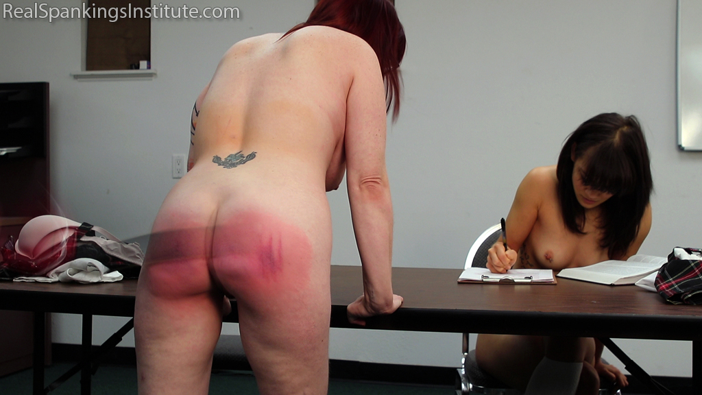 Real Spankings Institute – MP4/Full HD – Hand Spanked and Strapped Together (Part 4 of 4) | February 25, 2019