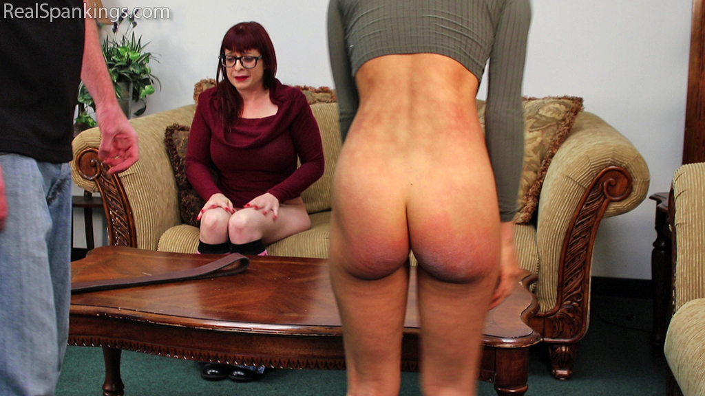 Real Spankings – MP4/Full HD – Spanked with the Belt for Breaking Curfew (Part 1 of 2) | February 13, 2019
