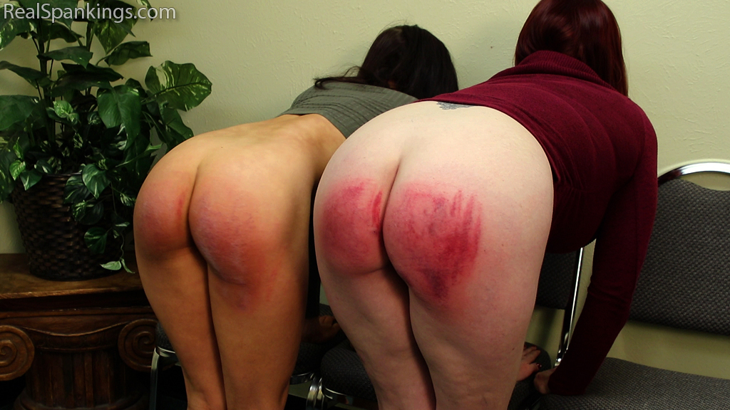 Real Spankings – MP4/Full HD – Two Girls Paddled (Part 2 of 2) | February 27, 2019