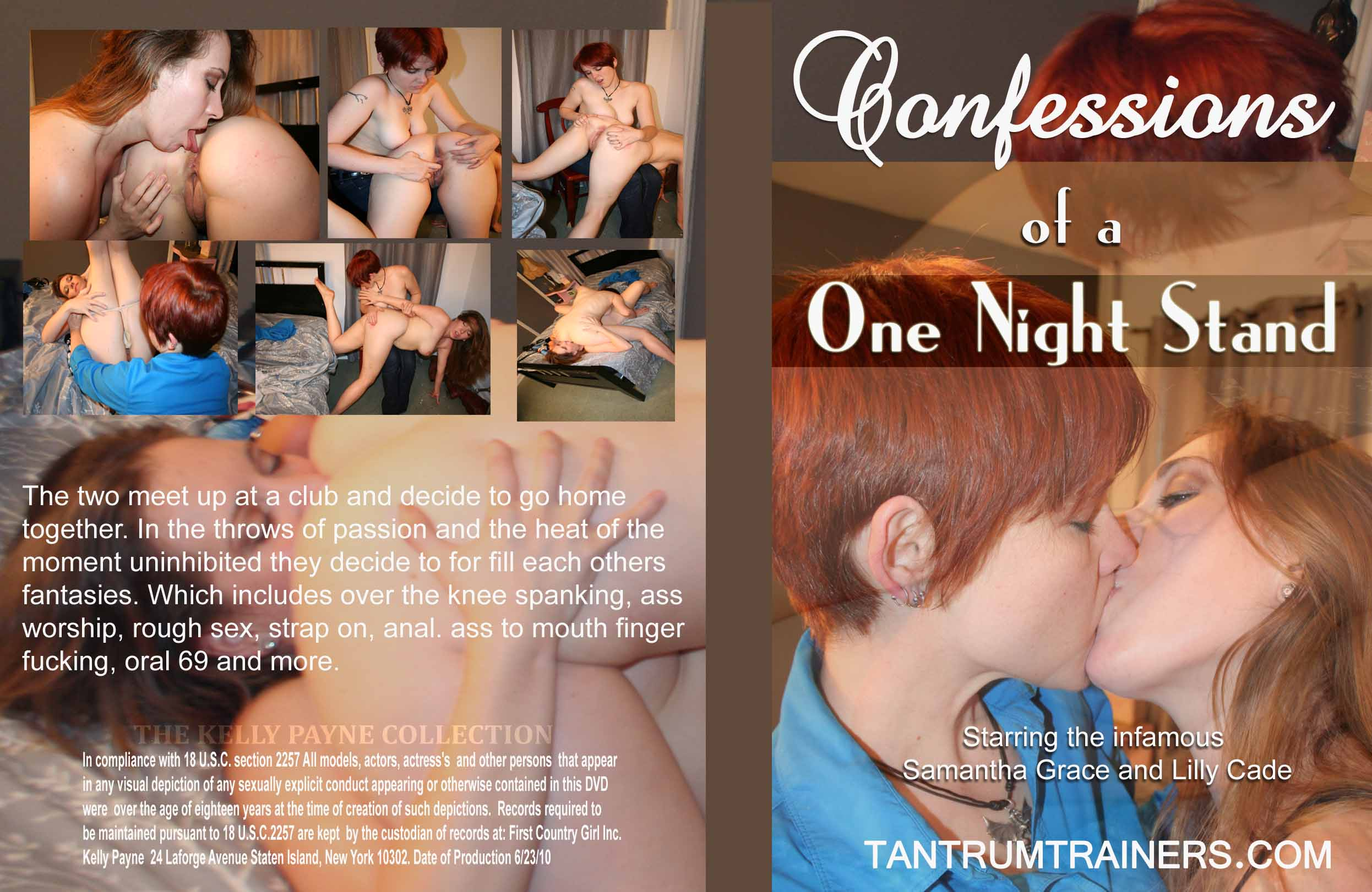 Tantrum Trainers – MP4/SD – CONFESSIONS OF A ONE NIGHT STAND