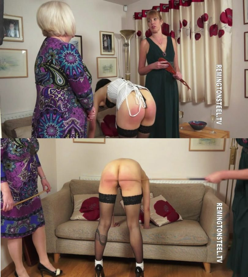 snapshot20190205002448 810x906 - English Spankers – MP4/SD – Aunty Katie,Sarah - The Birthday Present