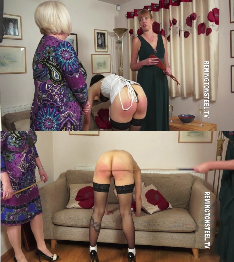 English Spankers – MP4/SD – Aunty Katie,Sarah – The Birthday Present