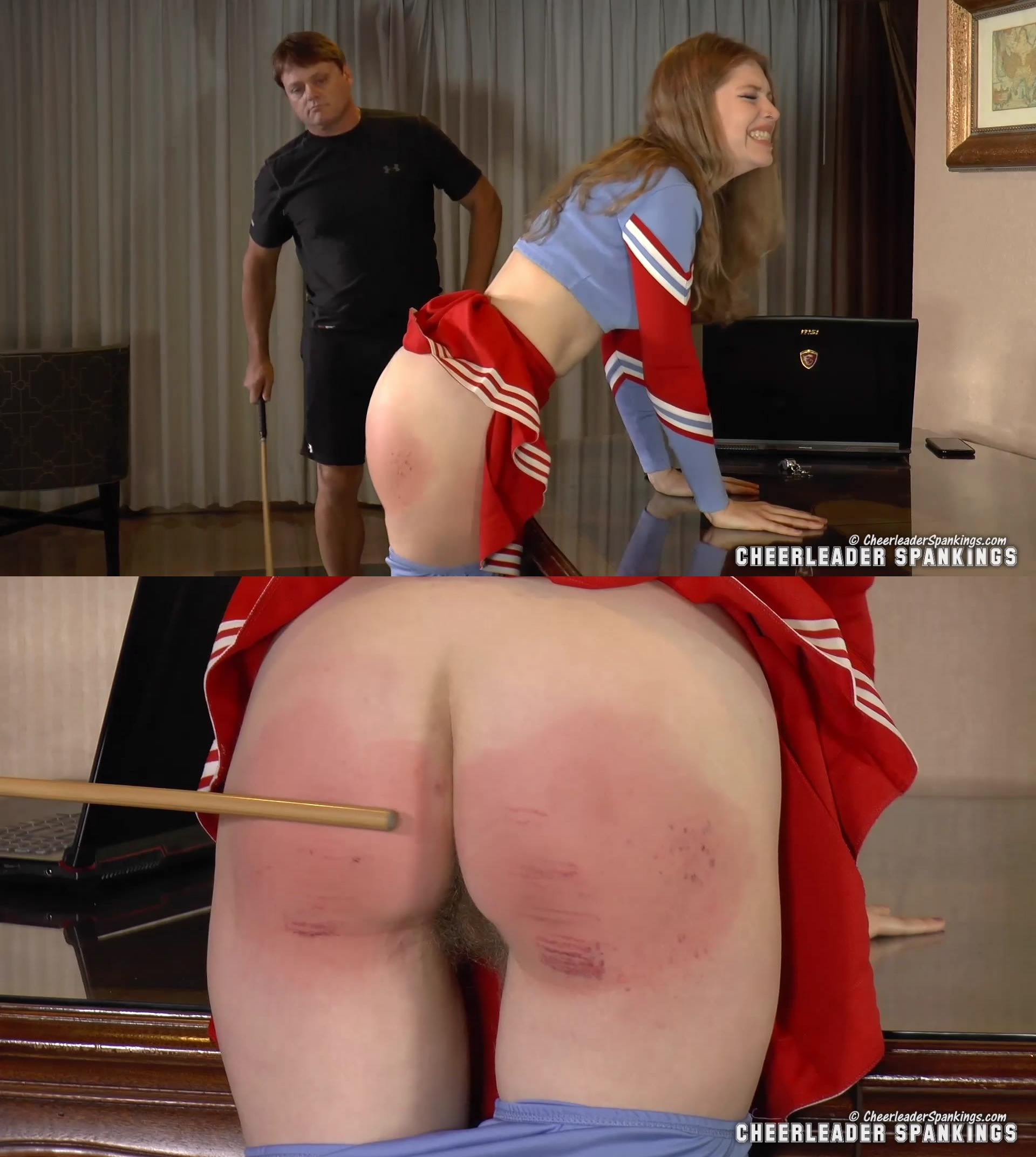 Cheerleader Spankings – MP4/HD – Chearleader Spanked