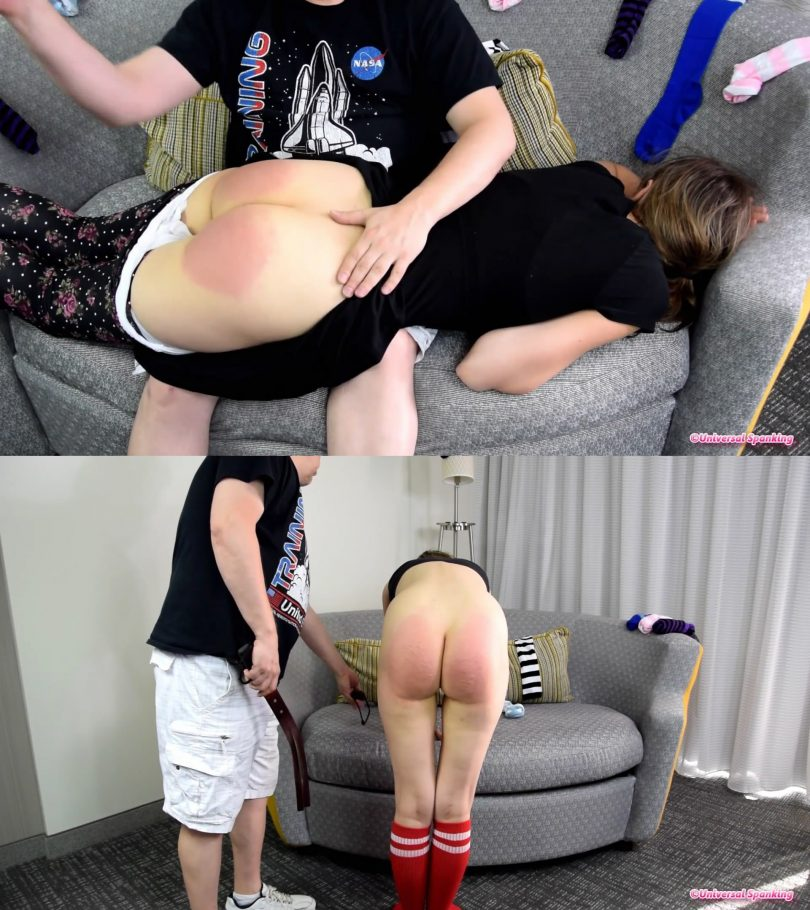 snapshot20190221231454 810x910 - Universal Spanking and Punishments – MP4/Full HD – Samantha's Messy Room: A Lazy Daughter is Spanked