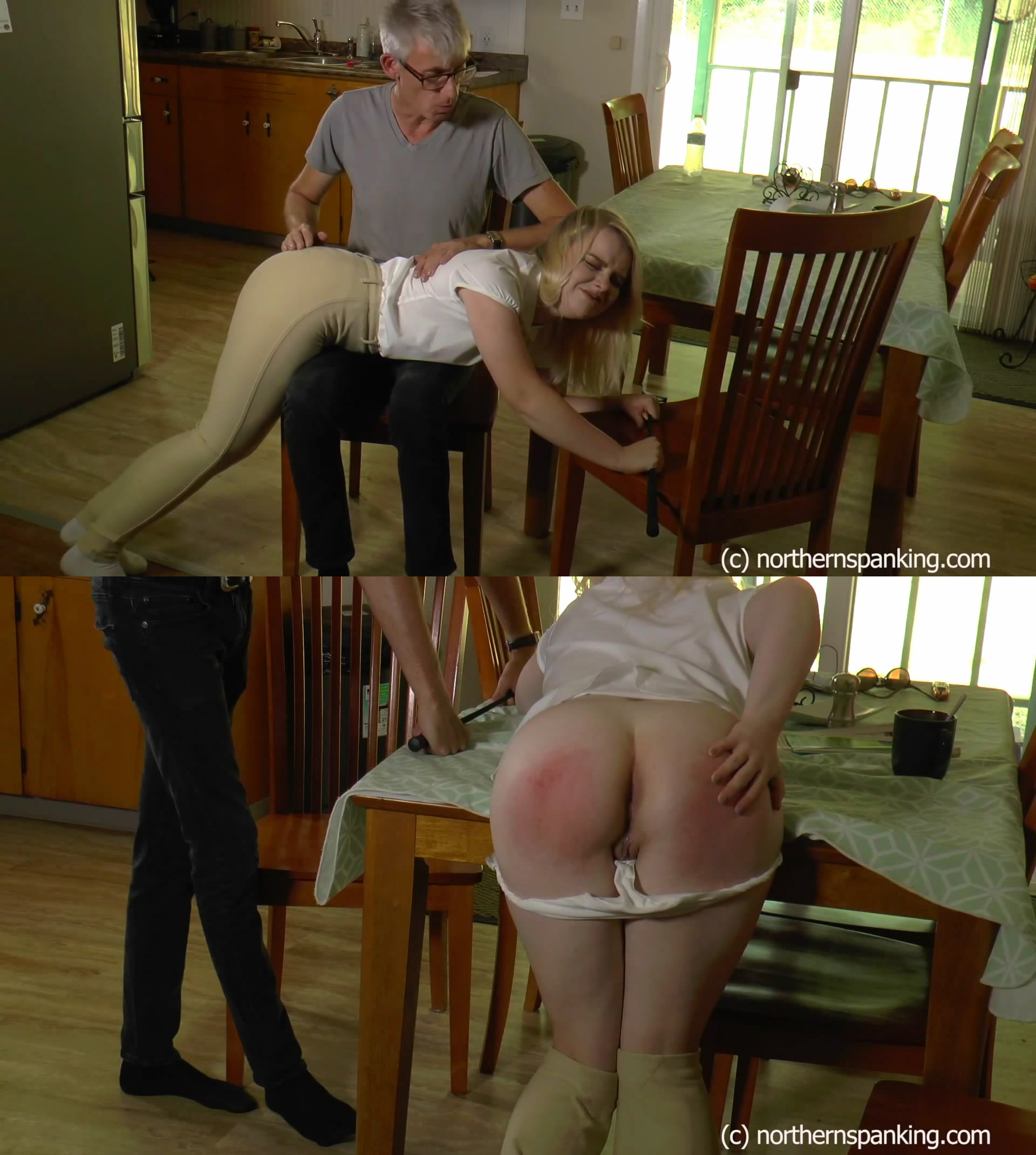 Northern Spanking – MP4/Full HD – Bambi Belle, Paul Kennedy – Bratty Bambi Horsewhipped