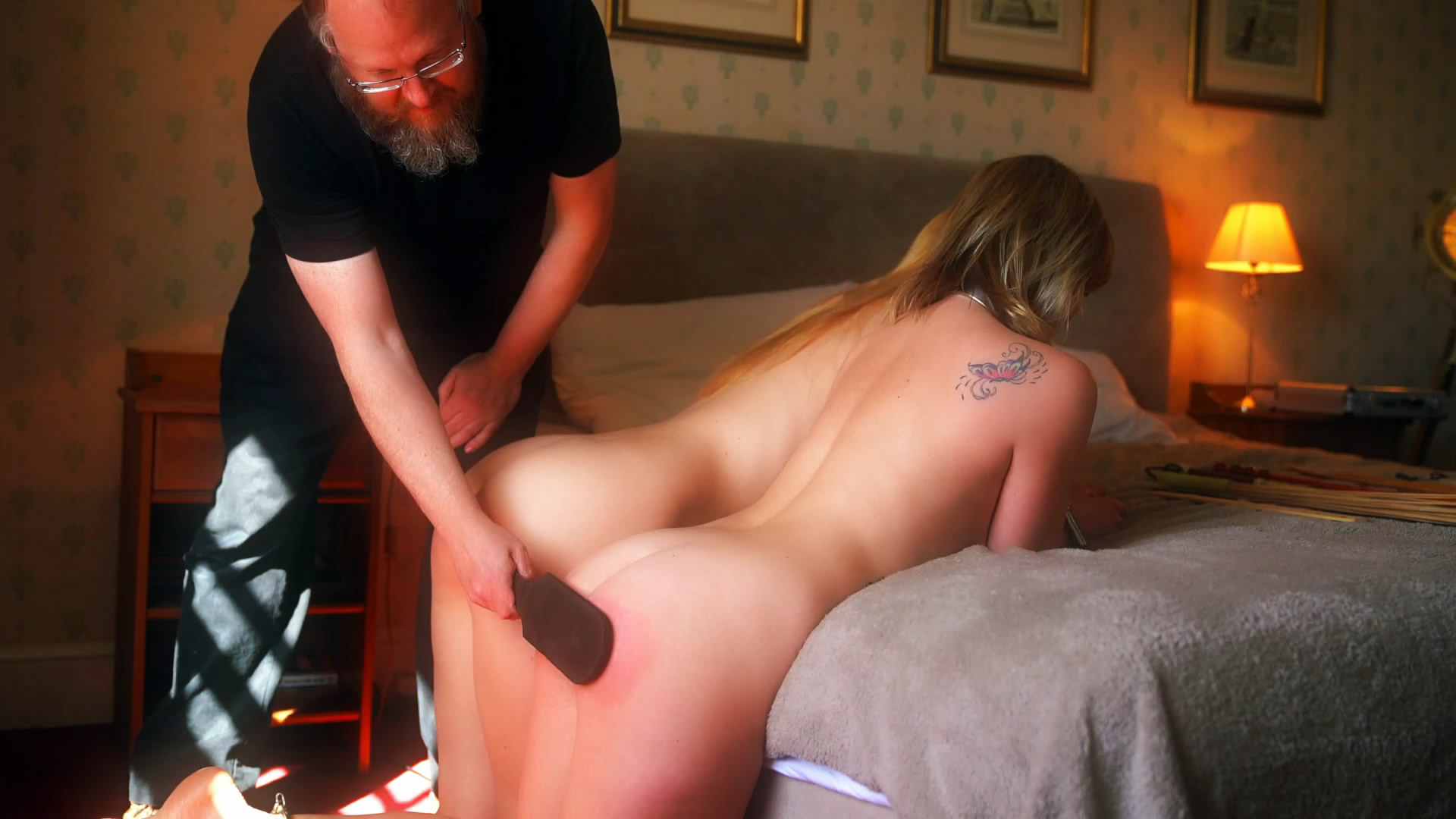 Restrained Elegance – MP4/Full HD – Ariel, Lucy and the Travelling Disciplinarian (Part Two)