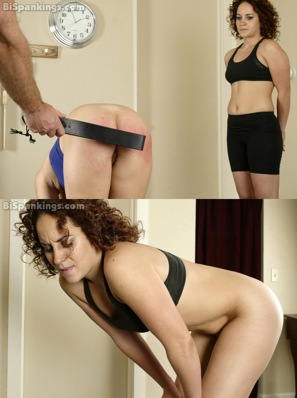 Bi Spanking – RM/SD – Physical Training With Coach