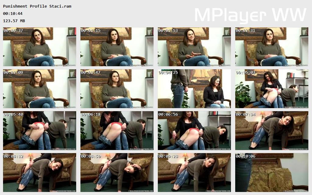 Punishment Profile Staci Preview - OTK Spankings – RM/HD – Punishment Profile: Staci | March 13, 2019