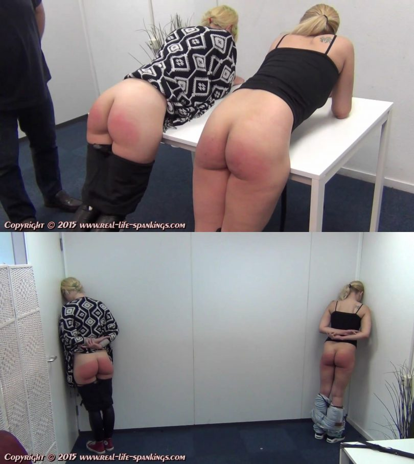 snapshot20190305115153 810x908 - Real Life Spankings - MP4/Full HD - Ivey And Julie Disciplined Again