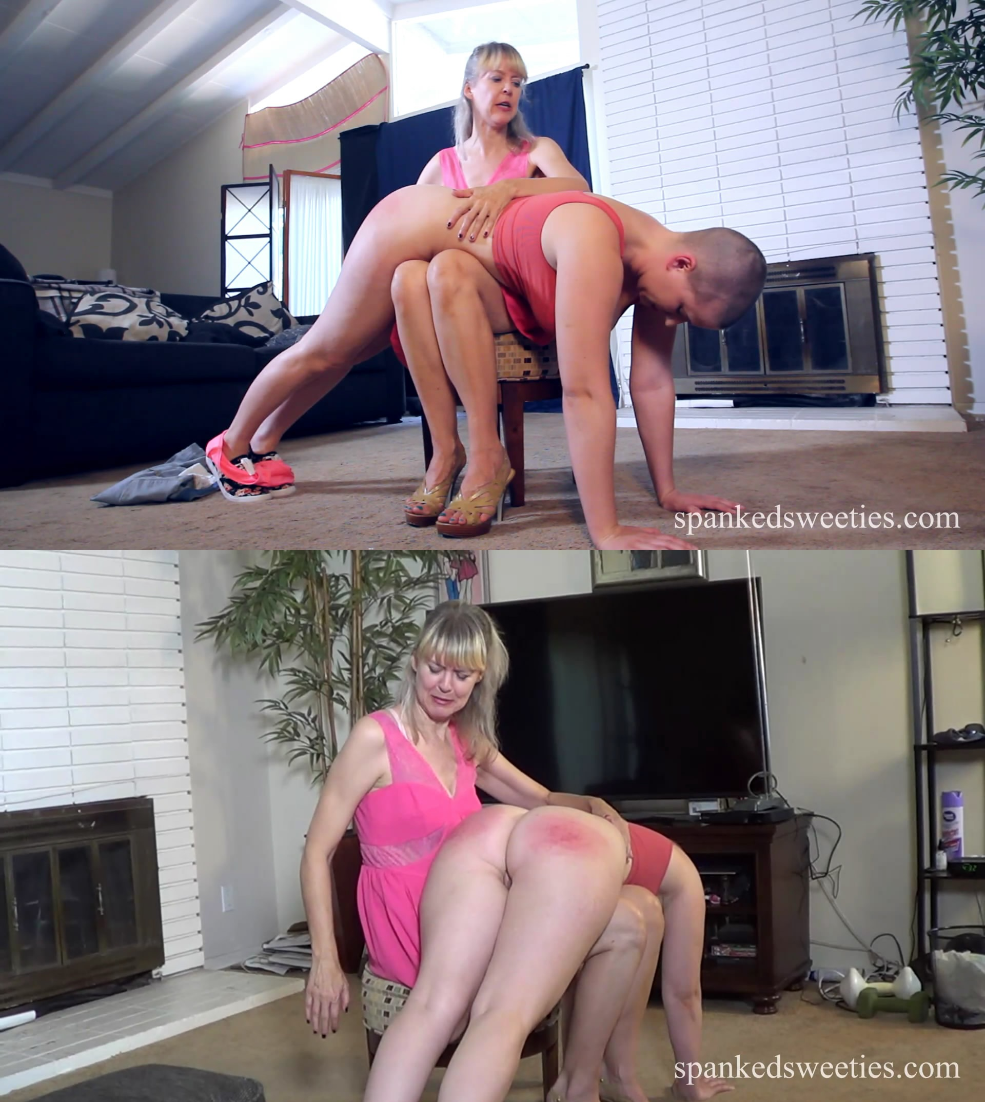 Spanked Sweeties – MP4/Full HD – Riley Nixon, Clare Fonda – Sp Full