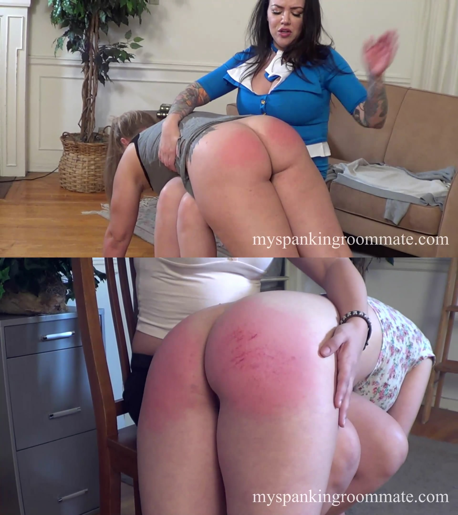 My Spanking Roommate – MP4/Full HD – Kay Richards, Madison Martin, Emily Parker, Adriana Evans – Episode 300: Madison and Kay Both Get Spanked