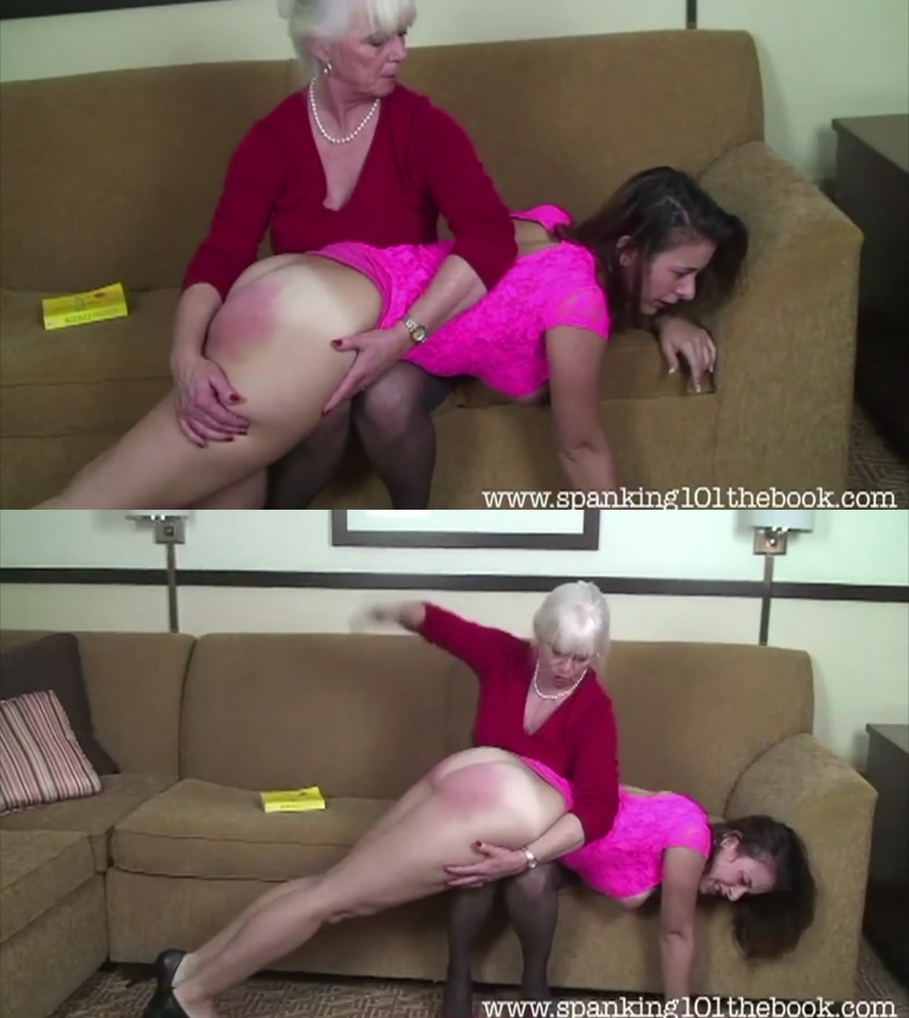 Spanking 101 The Videos – MP4/HD – Punished in Pink 2