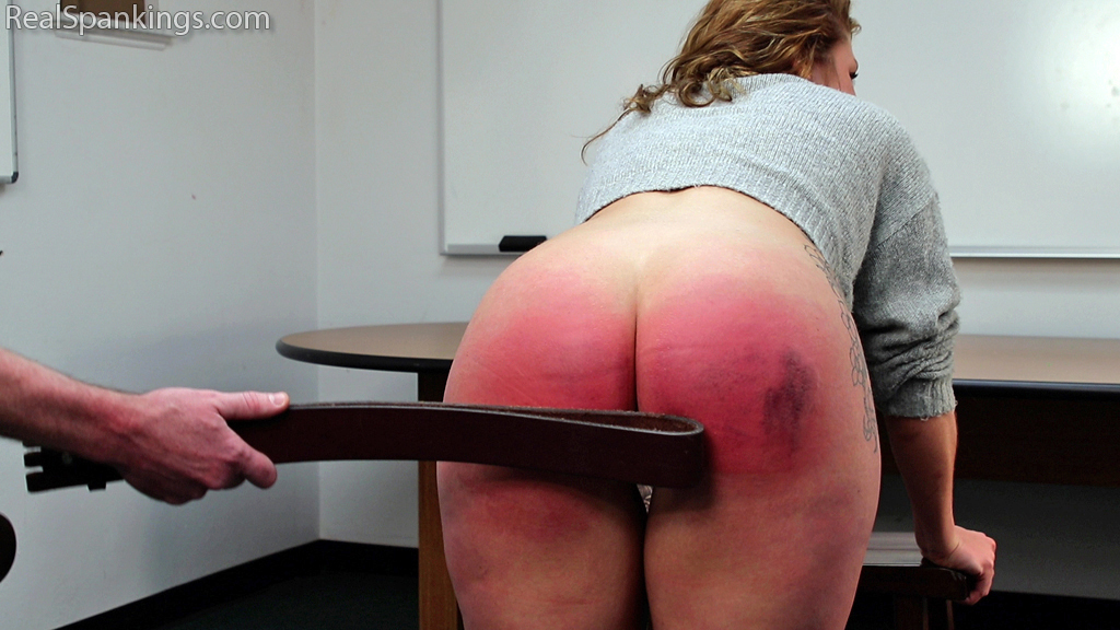 Real Spankings – MP4/Full HD – Interviewed and Spanked: Maya | April 17, 2019