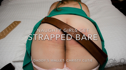 Assume The Position Studios – MP4/HD – CHRISTY CUTIE,THE MASTER – NAUGHTY GIRLS GET STRAPPED BARE- DADDY'S WALLET 2  | APR. 19, 19