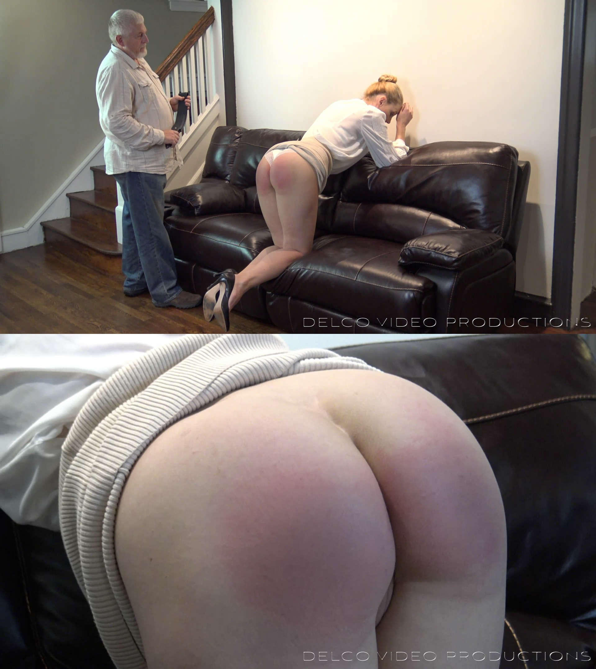 Delco Video Productions – MP4/Full HD – Governess' Choice: Discipline or Discharge