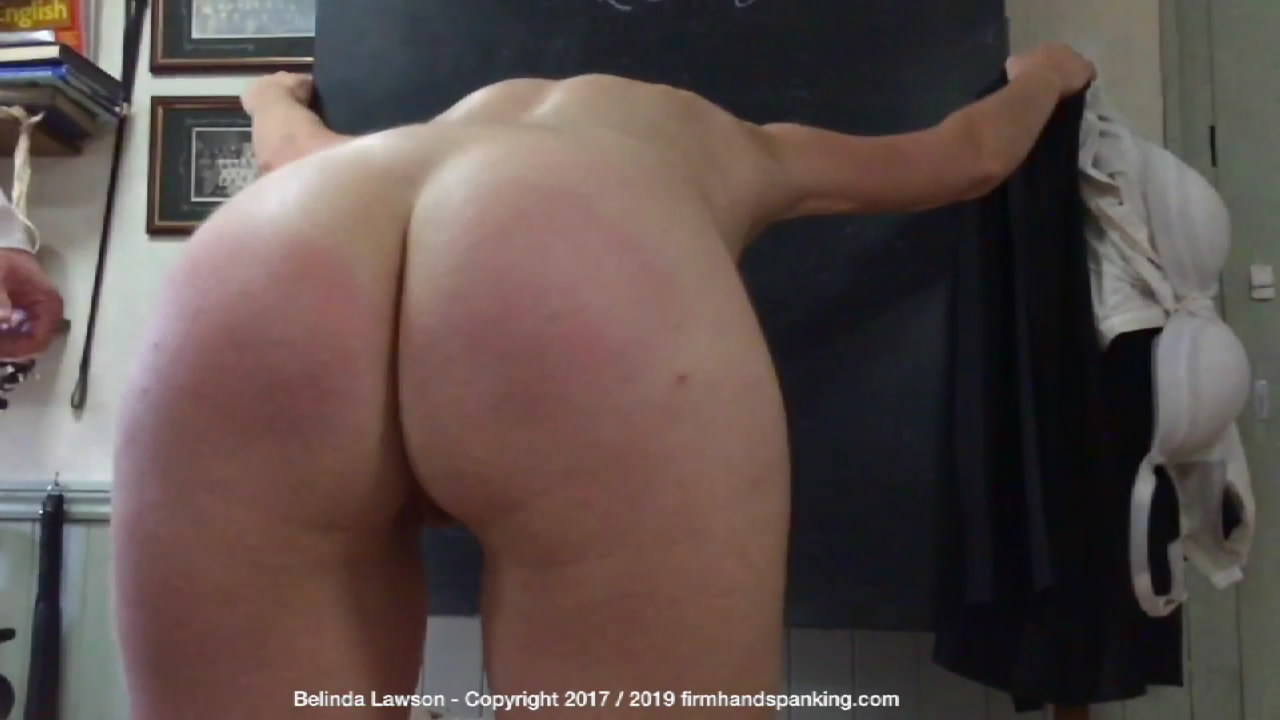 Firm Hand Spanking – MP4/HD – Belinda Lawson – Slowmo Special – A/Exclusive slow-motion footage of a 24-stroke nude slippering for Belinda Lawson | Apr 10, 2019