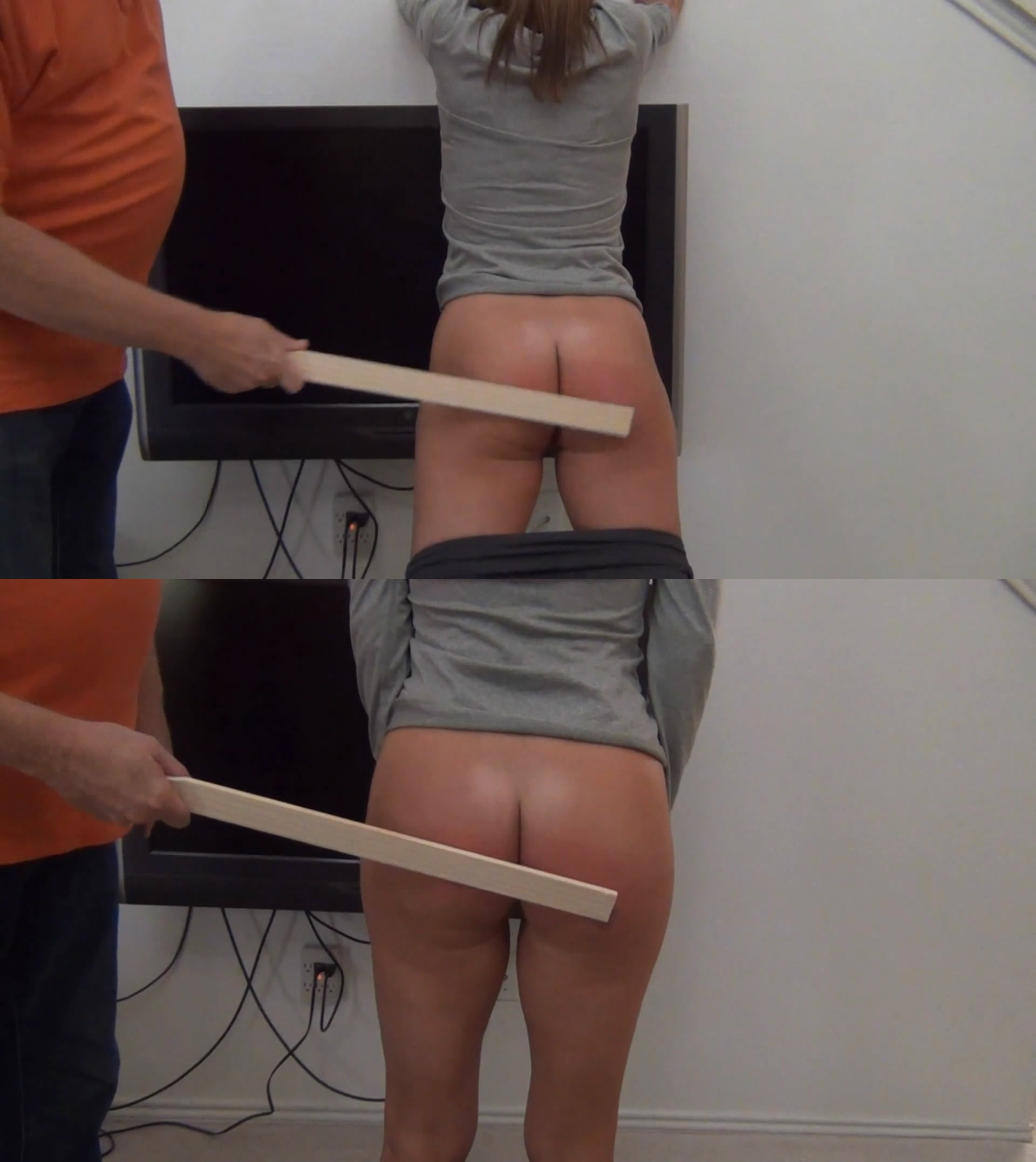 Amateur Spankings – MP4/Full HD – Anna Spanked With A PaintStick