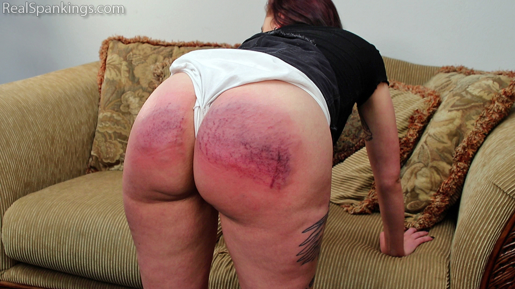 Real Spankings – MP4/Full HD – Sent Home for a Short Skirt | April 29, 2019