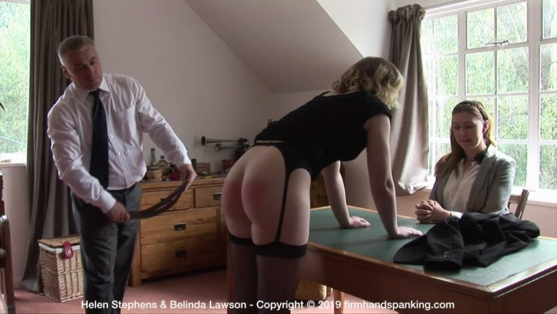 snapshot20190516002606 810x456 - Firm Hand Spanking – MP4/HD – Helen Stephens - The Institute - C/Strapped across her bouncing bare bottom Helen Stephens discovers the burn | May 15, 2019