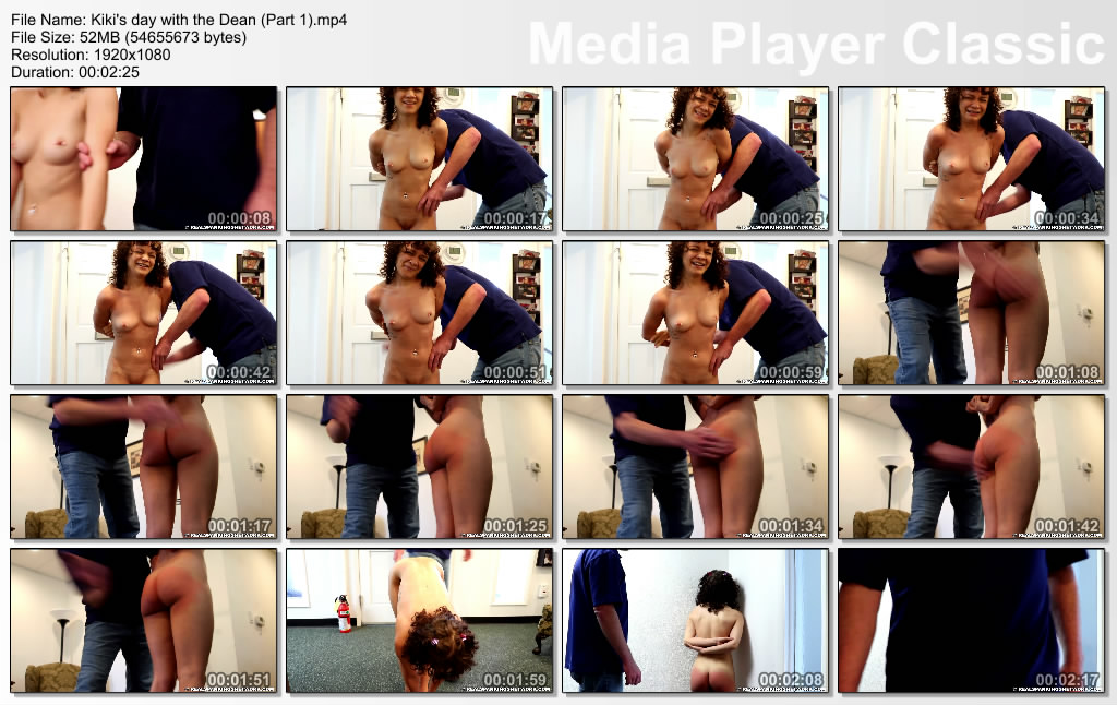 thumbs20190511144836 - Real Spankings Institute – MP4/Full HD – Kiki's day with the Dean (Part 1) | May 10, 2019