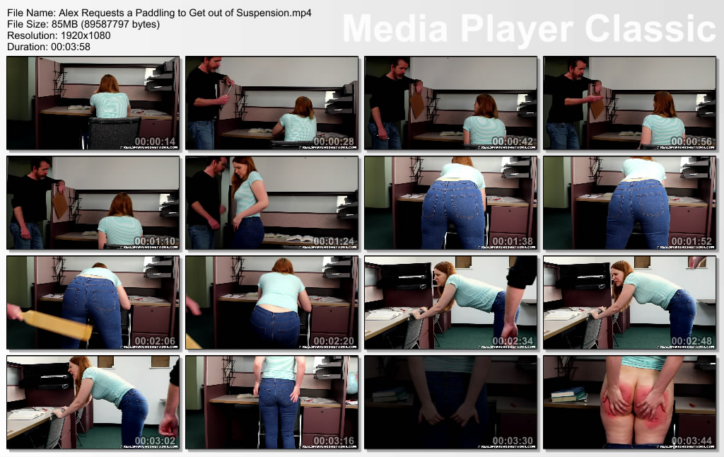 thumbs20190511145304 - Real Spankings – MP4/Full HD – Alex Requests a Paddling to Get out of Suspension | May 10, 2019