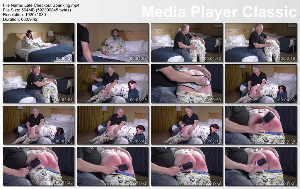 thumbs20190520222253 - Delco Video Productions – MP4/Full HD – Late Checkout Spanking