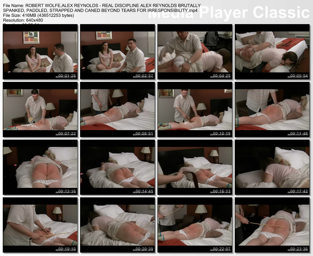 thumbs20190528195052 - Disciplinary Arts – MP4/SD – ROBERT WOLFE,ALEX REYNOLDS - REAL DISCIPLINE ALEX REYNOLDS BRUTALLY SPANKED, PADDLED, STRAPPED AND CANED BEYOND TEARS FOR IRRESPONSIBILITY | MAY. 28, 19