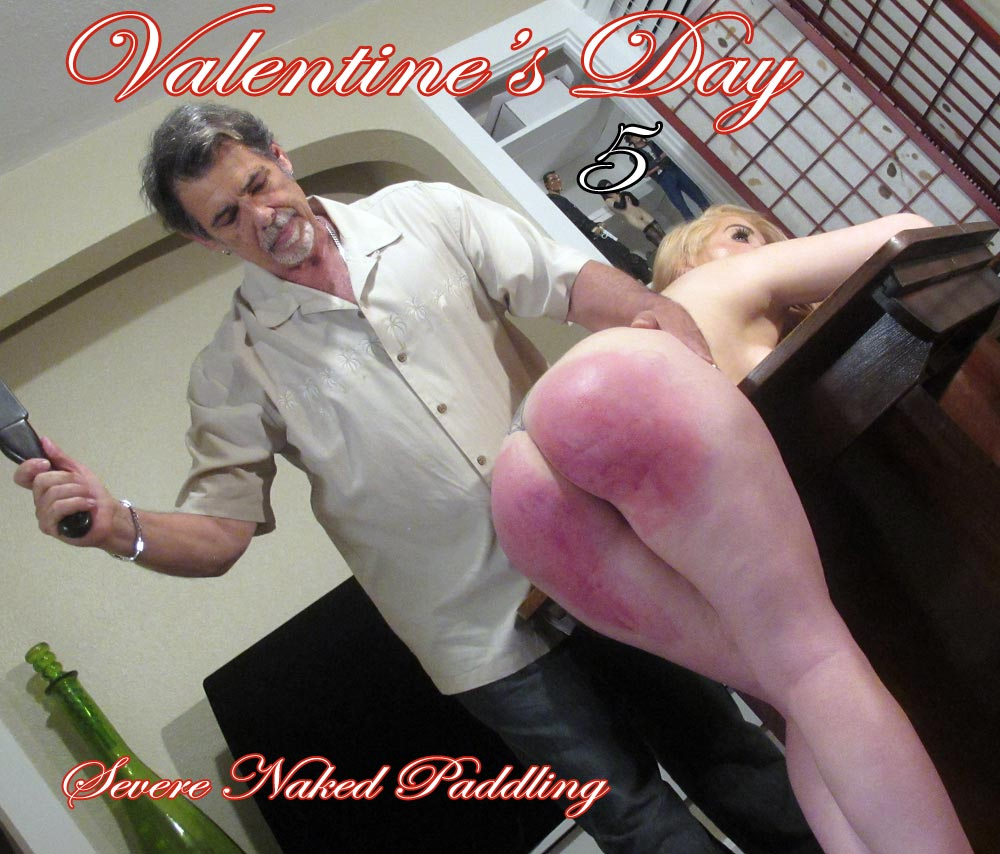 whitney1 5 main - Dallas Spanks Hard – MP4/SD – Valentines Day 5 - Severe Naked Paddling
