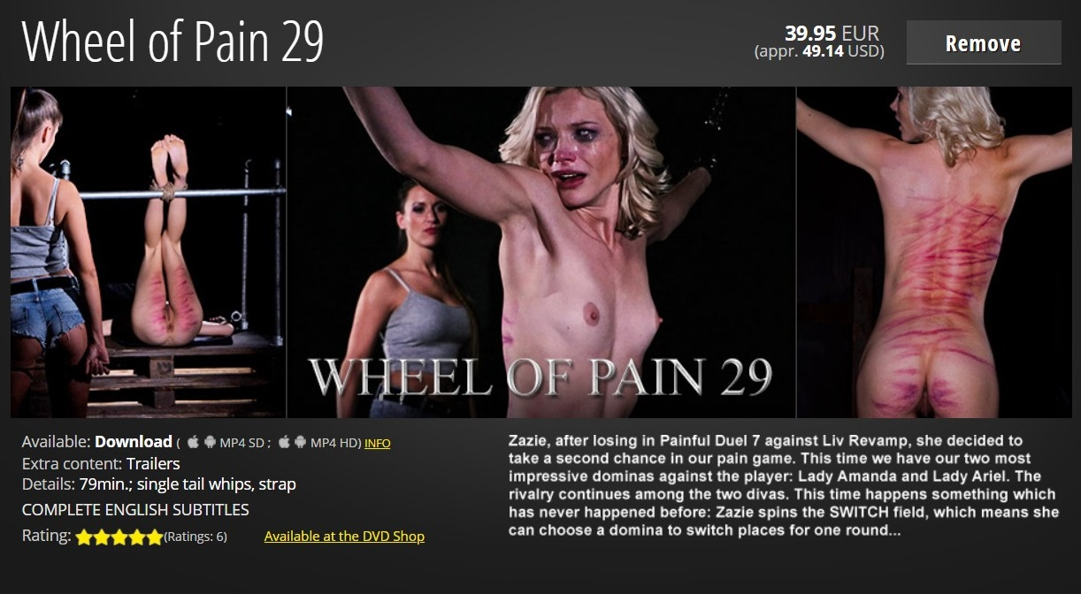 Elite Pain – MP4/HD – Wheel of Pain 29