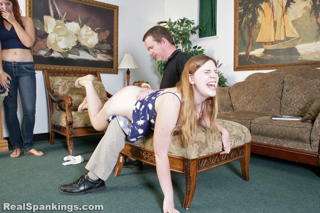 OTK Spankings – RM/HD – Alex: Punished in Front of her Friends | June 03, 2019