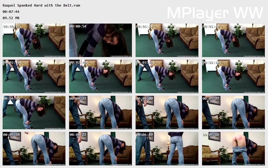 Raquel Spanked Hard with the Belt Preview - Real Strappings – RM/HD – Raquel: Spanked Hard with the Belt | June 03, 2019