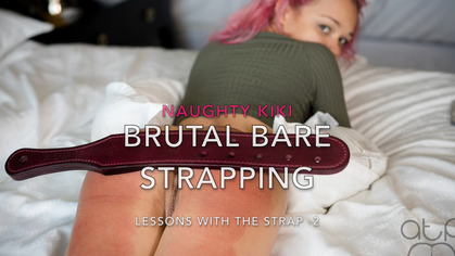 Assume The Position Studios – MP4/HD – THE MASTER,KIKI – NAUGHTY KIKI- BRUTAL BARE BOTTOM STRAPPING – LESSONS – 2