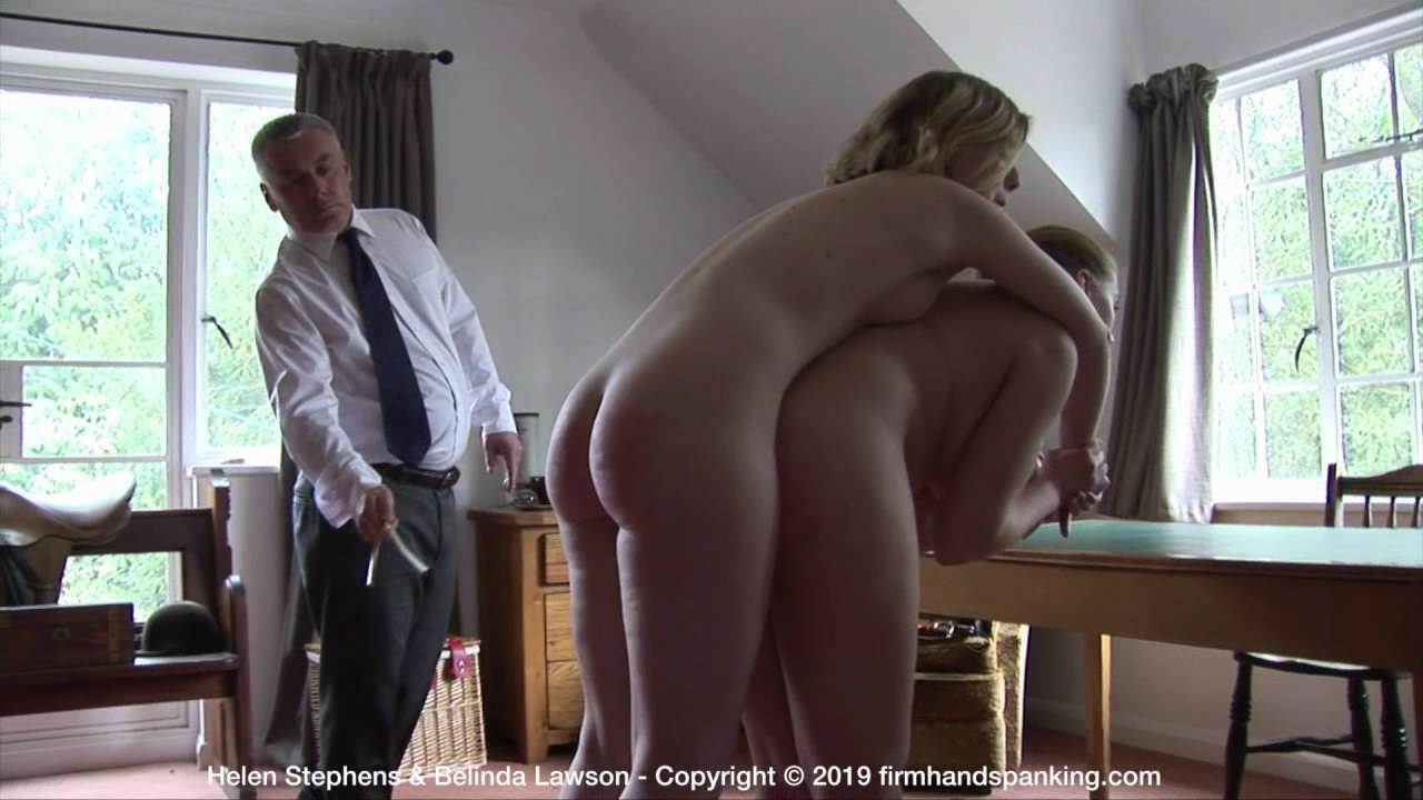 Firm Hand Spanking – MP4/HD – Helen Stephens – The Institute – M/Nude caning for Helen Stephens, standing high on her toes, legs shaking