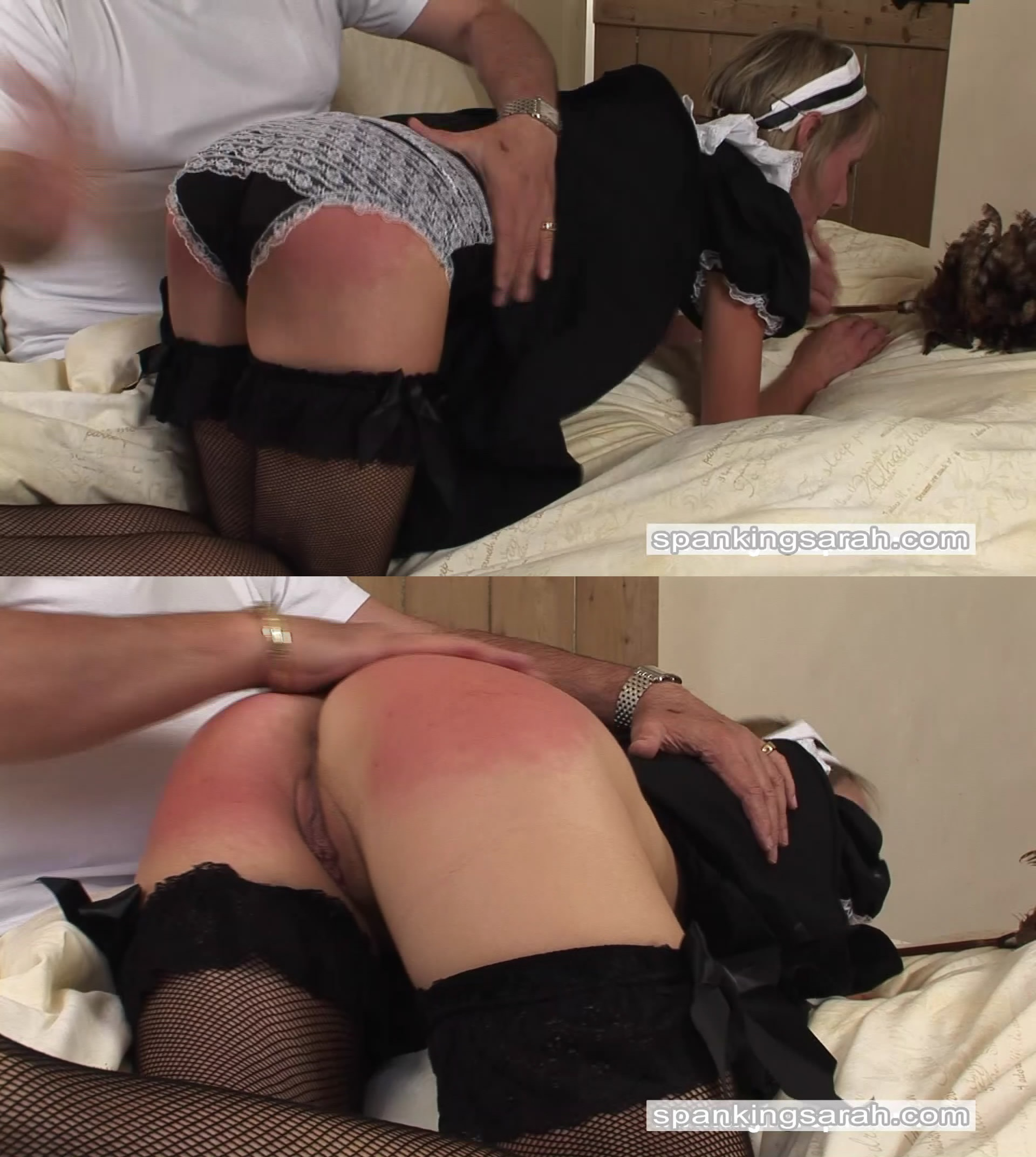 Spanking Sarah – MP4/Full HD – Tiffany – Maid for a spanking