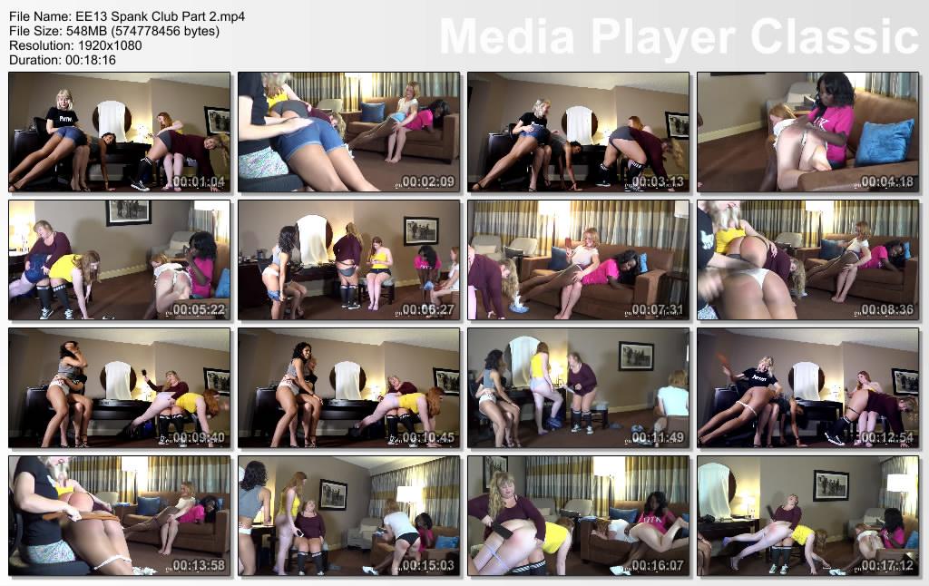 thumbs20190609190227 - Girl Spanks Girl – MP4/SD – Clare Fonda, Stevie Rose, Alex Reynolds, Christy Cutie, Cleo Divine, Nuna Starks - Spank Club Part 2