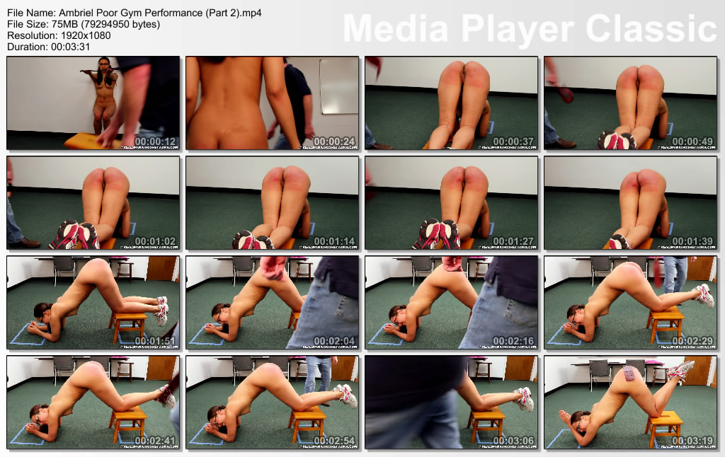 thumbs20190615131038 - Real Spankings Institute – MP4/Full HD – Ambriel: Poor Gym Performance (Part 2) | June 14, 2019