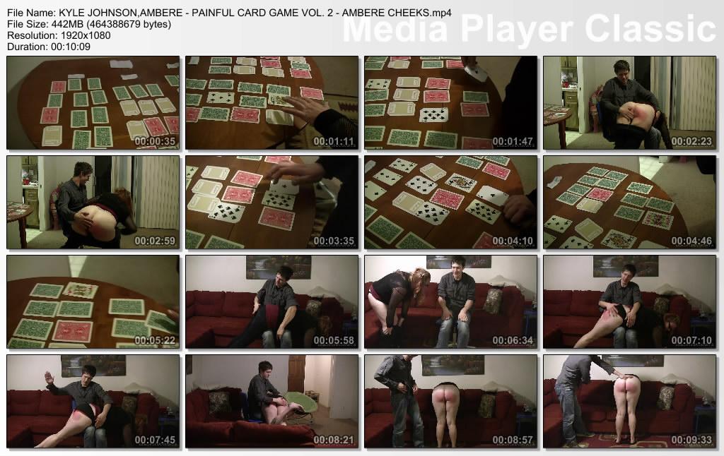 thumbs20190629221204 - Disciplinary Arts – MP4/Full HD – KYLE JOHNSON,AMBERE - PAINFUL CARD GAME VOL. 2 - AMBERE CHEEKS