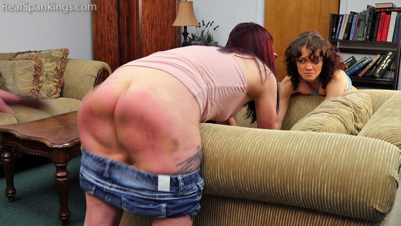 15527 007 810x456 - Real Spankings – MP4/Full HD – Kiki and Anastasia Ignore Their Phones (Part 3) | July 08, 2019