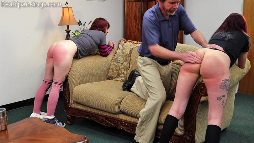 15547 008 810x456 - Real Spankings – MP4/Full HD – Isabella and Anastasia Hand Spanked Together (Part 2 of 2) | July 15, 2019