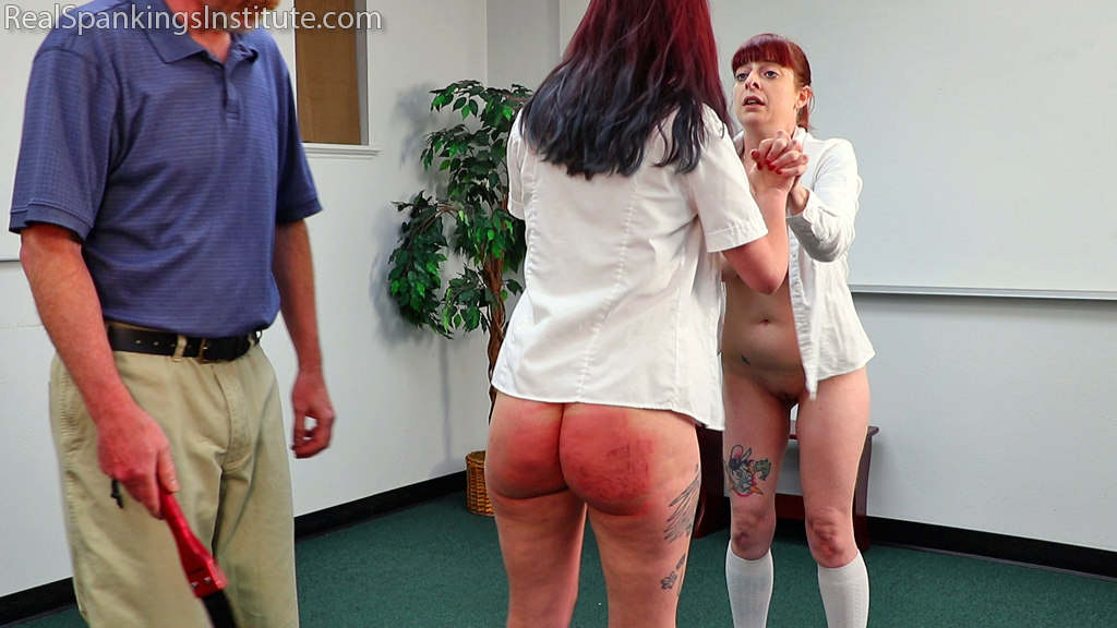 Real Spankings Institute – MP4/Full HD – No Bras Equals a Trip to See The Dean (Part 3 of 4) | July 15, 2019